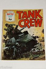 Battle Picture Library Comic, Number 713, Tank Crew, British Pocket