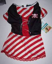 NWT Martha Stewart Pets Pirate Dress Costume for Dogs Dog Size Small Halloween