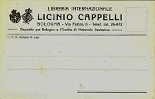 #BOLOGNA: testatina- LICINIO CAPPELLI- Libreria Internazionale