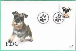 Schnauzer Dog Pet Nice Paw Cancel Helsinki Finland Mint FDC 2005