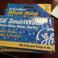 Ge SmartWater Whole Home Water Test Kit lot of 4
