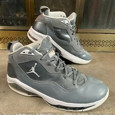Nike Air Jordan Melo M8 Basketball Cool Grey 469786-002 Mens 9.5 Carmelo Anthony