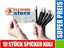 10 Stück - Spicker Kuli Kulli KUGELSCHREIBER // ELEVENDI STORE //