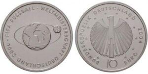 2mal 10 Euro Münze zur FIFA WM 2006: Das größte Sportereignis aller Zeiten