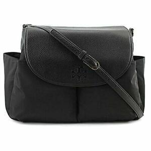 Tory Burch Thea Nylon Messenger Baby Bag Women  Crossbody Handbag $400 NEW