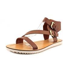 Sandali e scarpe gladiatori marrone per il mare da donna