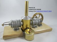 1902 Essex Caloric Stirling Hot Air Engine Model Casting Kit Plans Castings