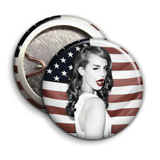 Lana Del Rey - USA FLAG - Button Badge - 25mm 1 inch
