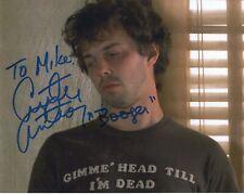 CURTIS ARMSTRONG HAND SIGNED 8x10 COLOR PHOTO+COA      NERDS BOOGER      TO MIKE