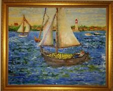 Fauvist art by C.J.  Michelson ?