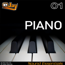 eJay Piano Sound Essentials, WAV Samples and Loops,digital,keys,audio pro,music