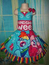 My Little Pony Back to School Friendship is Sweet Girls dress Size 6 Ready Ship