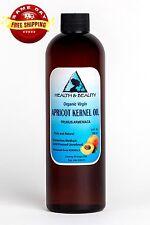 APRICOT KERNEL OIL UNREFINED ORGANIC VIRGIN COLD PRESSED RAW NATURAL PURE 24 OZ