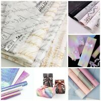 Gift Wrapping Paper Sheet Floral Holiday Party Flower Wrap Decor Supplies DIY