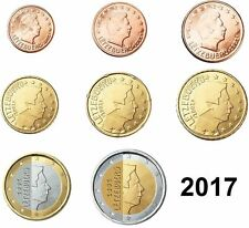 SET LUXEMBURGO 2017: 8 MONEDAS SIN CIRCULAR