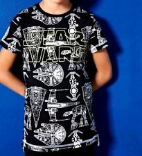 Next Boys' Novelty/Cartoon Crew Neck Short Sleeve Sleeve T-Shirts & Tops (2-16 Years)