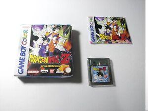 Dragon Ball Z Les Guerriers Légendaires Nintendo Game Boy Color