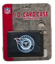 Tennessee Titans ID Card Case Navy Wallet with Keyring Keychain NFL