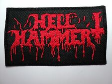 HELLHAMMER RED  EMBROIDERED PATCH