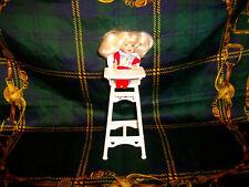 Barbie Shelly poupée Eating Fun Chaise Haute Enfants Jouet 1997 Mattel collection *