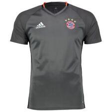 Camisetas de fútbol entrenamientos gris
