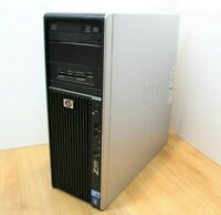 HP Z400 Workstation Win 10 Tower PC Intel Xeon W3550 Quad 3.0GHz 16GB 320GB HDD