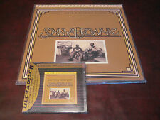 SONNY TERRY & BROWNIE MCGHEE MFSL 200 GRAM MASTERED AUDIOPHILE LP + 24 KARAT CD