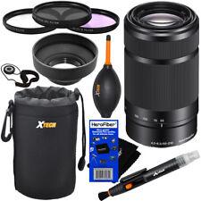 Sony 55-210mm f/4.5-6.3 OSS E-Mount Tele Zoom Lens (Black) + 10pcs Dlx Acc Kit