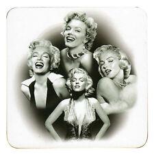 STOCK SVENDITA sui nuovi LUCIDA Set di 4 Bere/Tazza Sottobicchieri Marilyn Monroe
