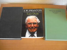 Job Lot 3 E W SWANTON Cricket Book LAST OVER ELUSIVE VICTORY SOUTH AFRICA REPORT
