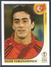 PANINI KOREA/JAPAN WORLD CUP 2002- #193-TURKIYE-TURKEY-OGUN TEMIZKANOGLU