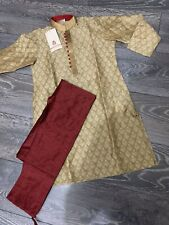 Boys Panjabi, Asian muslim Traditional Boys Mosque, Eid Dress. 7/8Years Boys