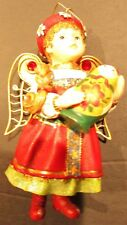 Dutch Angel Christmas Ornament