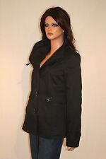 Taillenlange Only Damenjacken & -mäntel ohne Muster mit Knöpfen