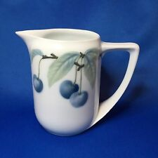Rare Rosenthal Donatello Creamer Blue Cherry / Cherries Pate Sur Pate - Germany