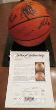 1988 NBA All-Star Game Autographed Basketball - MJ, Magic, Bird, Ewing, Malone +