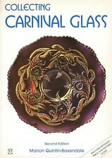 Vintage & Reproduction Carnival Glass - Makers Patterns Shapes Values / Book