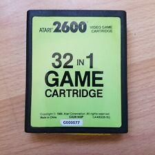 Atari 2600 - 32 in 1 Cartuccia-Air SEA BATTLE FUORILEGGE Stampede-Testato #5