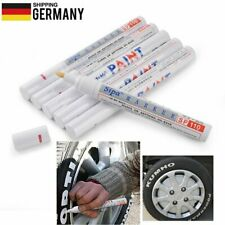 6x KFZ Reifenmarker Reifen Markierstift Reifenstift Reifenmarkierstift Weiß【DE】