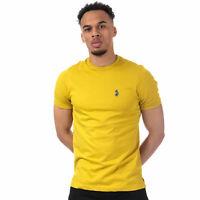 Mens Luke 1977 Trouser Snake Crew Neck T-Shirt In Yellow