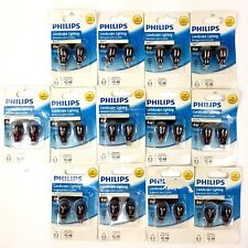 Lot Of 26 Philips 12 Volt 4 Watt Red T5 Accent Landscape Lighting Wedge Base New