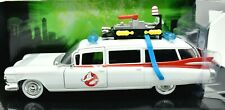 MODELLINO AUTO CADILLAC GHOSTBUSTERS ECTO-1 FILM SCALA 1:24 CAR MODEL DIECAST