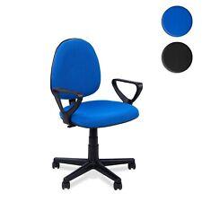 Silla de oficina giratoria , sillon escritorio Negro o Azul, Danfer