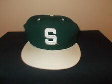 VTG-1990s Michigan State Spartans University New Era 5950 size7 fitted hat sku10