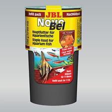 JBL NovoBel Nachfüllpack  Inhalt 750 ml Hauptfutter-Flocken für Aquarienfische