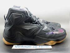 Nike LeBron Xiii 13 Black Lion sz 12