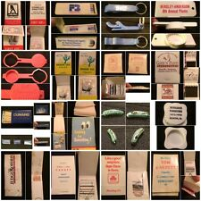 Vintage Tissue Booklets, Matches, Combs+ Yellow Pages, Desert Inn+