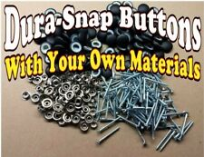 """10-25-DURA SNAP UPHOLSTERY BUTTONS #30-#36-3/4""""-1 1/2"""" SCREW STUDS YOUR MATERIAL"""