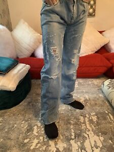 dolce gabbana 50 Ripped Jeans 36w / 34 L