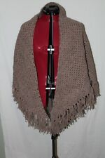 CIVIL WAR ERA CROCHET SHAWL WOOL BLEND MUSHROOM COLOR REPRODUCTION